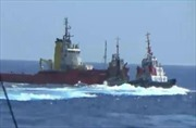 Tàu Trung Quốc vẫn hung hăng, manh động