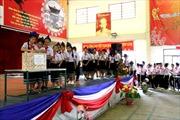 Học sinh Việt tại Lào hướng về biển đảo quê hương