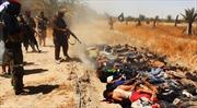ISIL hành quyết 1.700 binh sĩ Iraq