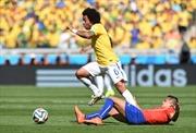 Brazil - Chile (3-2): Samba lạc nhịp, chủ nhà may mắn đi tiếp