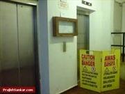 Rơi từ tầng 7 vì thang máy chung cư không có ca-bin