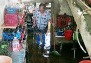 Hà Nội chỉ đạo khắc phục ngập úng do vỡ ống nước