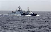 Tàu Trung Quốc ngăn cản tàu cá Việt Nam vào gần giàn khoan