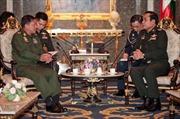 Chính quyền quân sự Thái Lan tuyên bố được Myanmar ủng hộ