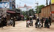 Thượng tướng Ngô Xuân Lịch thăm các chiến sĩ bị thương trong vụ rơi trực thăng