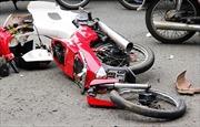 Ô tô đâm xe máy, 2 người tử vong