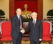 Tổng Bí thư Nguyễn Phú Trọng tiếp Chủ tịch Ngân hàng Thế giới