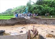 Bão số 2 gây thiệt hại ở Điện Biên, QL 12 tê liệt
