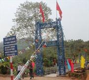 Điện Biên: Khắc phục sự cố lật cầu Sam Lang