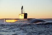 Hải quân Nga nhận tàu ngầm lớp Borei vào tháng 12 tới