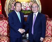 Chủ tịch Quốc hội tiếp Đoàn Nghị sỹ Nhật Bản