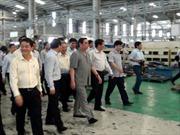 Đồng chí Lê Hồng Anh làm việc tại Quảng Nam