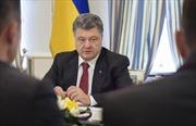 Tổng thống Poroshenko: Ukraine không bao giờ từ bỏ Crimea