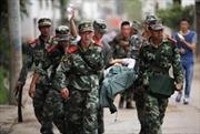 Lãnh đạo Đảng, Nhà nước gửi điện thăm hỏi vụ động đất tại Trung Quốc