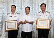 Tổng Giám đốc TTXVN làm việc với lãnh đạo Hải Phòng và Bộ Tư lệnh Hải Quân