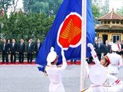Lễ thượng cờ ASEAN và Quốc kỳ Việt Nam