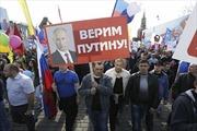 Người Nga ủng hộ 'trả đũa' Mỹ và Phương Tây