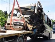 Quảng Ngãi: Xe khách đâm nhau, 23 người bị thương