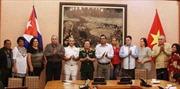 Thượng tướng Đỗ Bá Tỵ tiếp đoàn Bộ Các lực lượng vũ trang  Cuba
