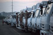 280 xe hàng cứu trợ Nga lên đường sang Ukraine