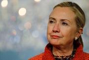 Bà Hillary khẳng định không chỉ trích Tổng thống Obama
