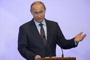 Tổng thống Putin càng cứng rắn, uy tín càng cao