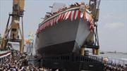 Ấn Độ bàn giao tàu chiến lớn nhất cho hải quân