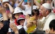 Giáo hoàng Francis kêu gọi hai miền Triều Tiên thống nhất