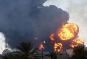 Thủ đô Libya bị không kích