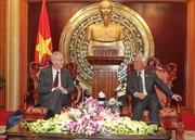 Phó Chủ tịch Quốc hội Uông Chu Lưu tiếp đoàn đại biểu Hà Lan