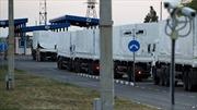 Không cần lệnh của Ukraine, Nga cho đoàn xe vào Lugansk