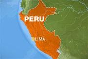 Động đất 7 độ richter tại Peru, cảnh báo nguy cơ sóng thần