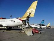Sân bay huyết mạch Libya bị tấn công