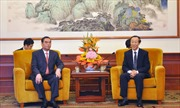 Đồng chí Lê Hồng Anh thăm Trung Quốc