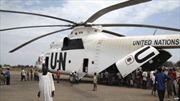 Trực thăng chở hàng của LHQ rơi ở Nam Sudan