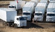 Ukraine sẵn sàng tiếp nhận có điều kiện hàng viện trợ Nga