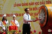 Trường THCS Nguyễn Tri Phương khai giảng năm học mới