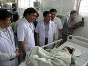 Bảo Việt tạm ứng tiền bồi thường vụ xe khách lao vực