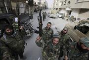 Quân đội Syria giành lại căn cứ gần Damascus