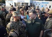 Tổng thống Ukraine cương quyết bảo vệ lãnh thổ