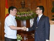 Phó Thủ tướng Vũ Đức Đam tiếp đoàn các nhà báo ASEAN