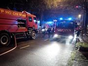 Cháy Lãnh sự quán Indonesia tại TP.HCM