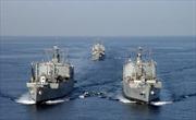 Hạm đội Thái Bình Dương Nga tập trận
