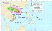 Trưa nay tâm bão số 3 đi vào Bắc vịnh Bắc Bộ