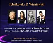 Hòa nhạc Tchaikovsky và Wieniawsky