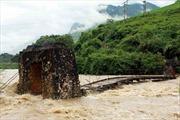 Hà Giang có nơi nước ngập gần tới đầu người