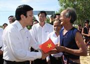 Chủ tịch nước thăm và làm việc tại Gia Lai