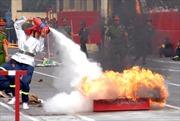 Ấn tượng hội thi chữa cháy và cứu nạn, cứu hộ