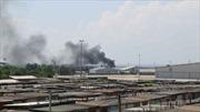 Donetsk lần đầu tiên bị pháo kích từ sau lệnh ngừng bắn
