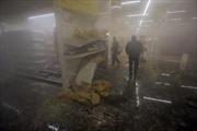 Donetsk đổ máu và hoang tàn vì đạn pháo